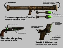 Concept Warlord: Arme à acide