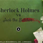 SHERLOCK vs JACK THE BUTCHER by Isabelle Beaubreuil on Genial.ly