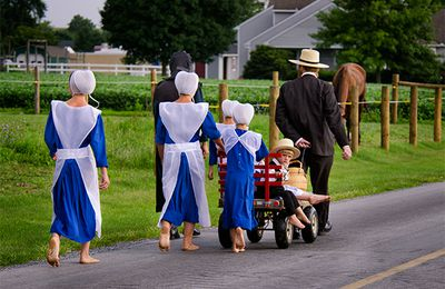 BEING AMISH IN THE 21st CENTURY