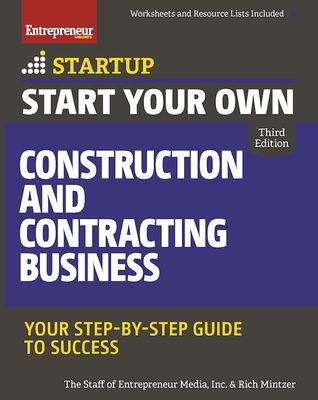 (PDF) Download Start Your Own Construction and Contracting Business: Your Step-by-Step Guide to Success By Rich Mintzer Free Online