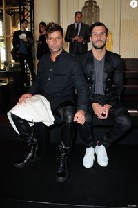 Ricky Martin à la fashion week