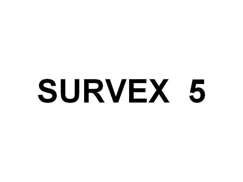 SURVEX 5  , navire de travaux maritime  en petite rade de Toulon le 28 mars 2019
