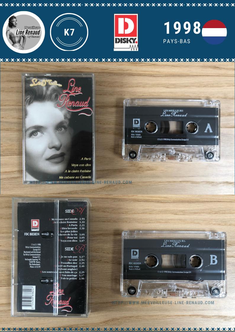 CASSETTES AUDIO: 1998 Disky - FDC 883824 (Pays-Bas)