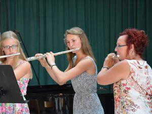 Viel Spaß und Freude beim Schülerabschlusskonzert der Sing- und Musikschule Veitshöchheim auf hohem Niveau