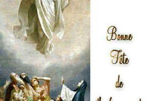Belle et sainte fête de l'Ascension !