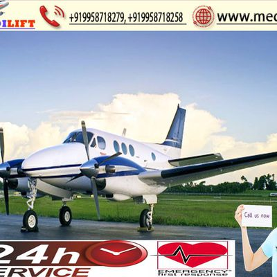 Medilift Air Ambulance Service in Delhi-Relocate with ICU Facility