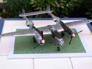 "P-38 L EDUARD 1/48 ""pacific lightnings"""