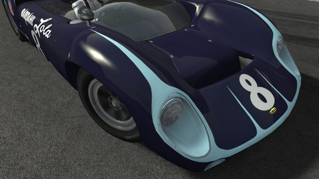 rFactor 2 Mod Lola T70 Spyder 1.0.4 disponible !