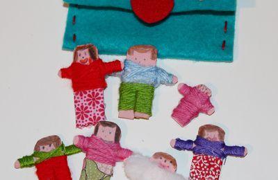 Fabriquer des petites poupées soucis : la petite idée apaisante pour les enfants!
