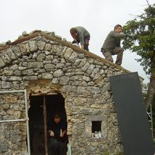 PNRV : Bargème : Restauration de la chapelle Saint-Antoine