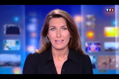 [2012 08 04] ANNE-CLAIRE COUDRAY - TF1 - LE 13H @13H00