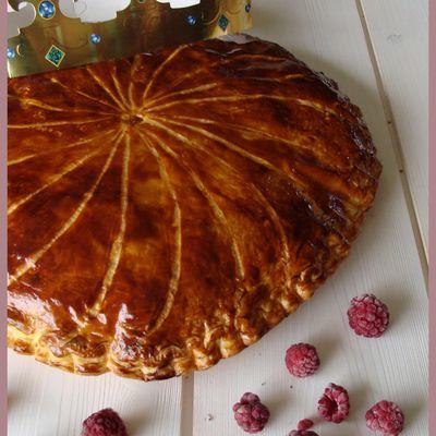 Galette crème de pistaches / framboises