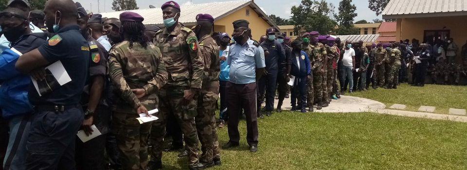 Le vote spécial des forces de l'ordre s'est déroulé sans anicroche