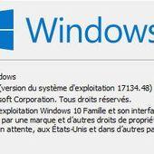 """Windows 10 """" 1803 """" équipe la moitié du parc mondial en seulement un mois - OOKAWA Corp. Raisonnements Explications Corrélations"""
