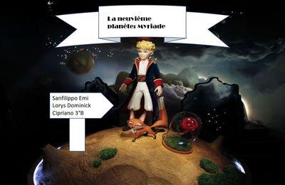La neuvième planète dans l'univers du Petit Prince