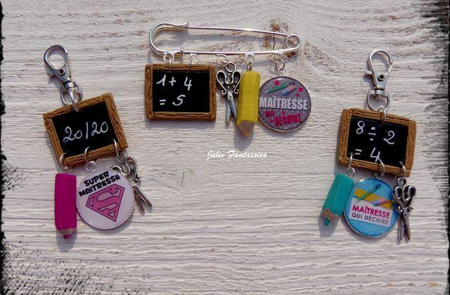 Bijoux de sac / Broches pour les maîtresses