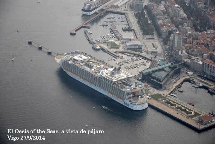 Galeria fotos El Oasis of the Seas, a vista de pájaro