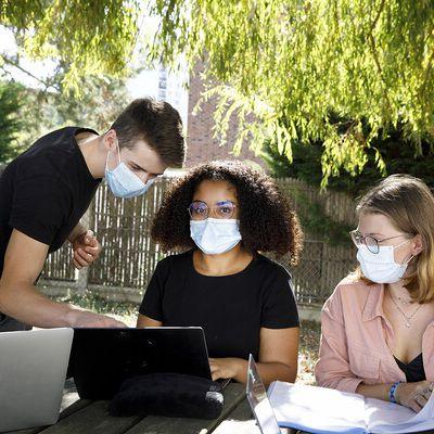 Application du protocole sanitaire dans les lycées et adaptations du bac pour l'année 2020-2021 (novembre 2020)
