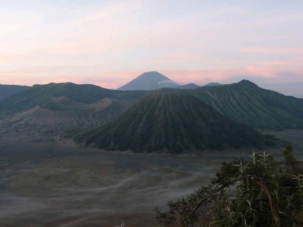 Visite des sites volcaniques Bromo & Kawa Ijen