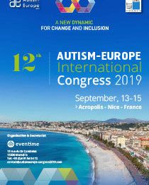 12ème Congrès International d'Autisme-Europe - 13-15 septembre 2019
