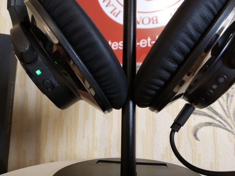 Découverte du casque Bluetooth 5.0 à réduction active des bruits ANC - OneOdio A10 @ Tests et Bons Plans