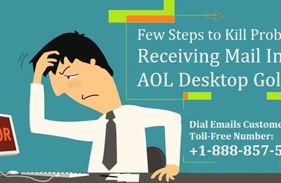 Few Steps to Kill Receiving Mail In AOL Desktop Gold Problems