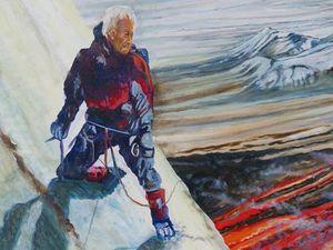 """"""" Chasseur de lave au Kamchatka """" – par Jocelyn Lardy - détails du personnage.- un clic pour ouvrir."""