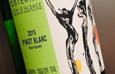 Alsace pinot blanc barriques 2015 Domaine Ostertag
