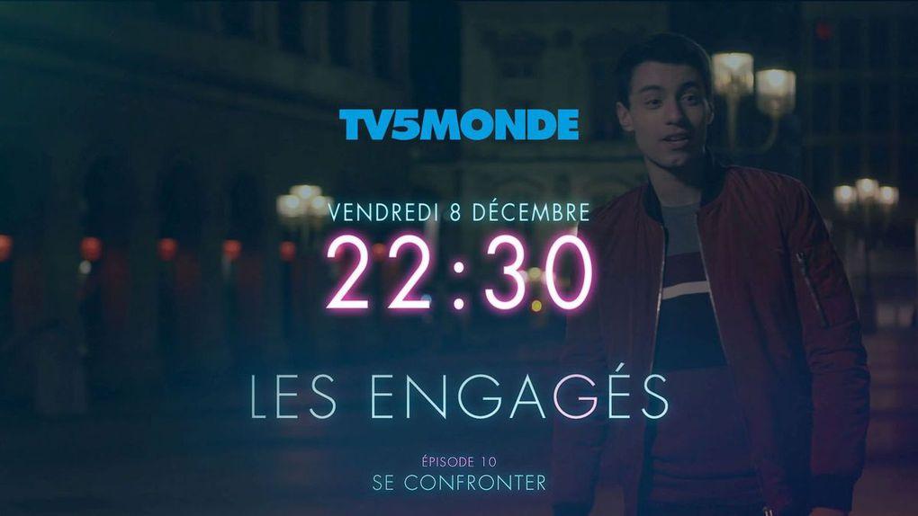 Diffusion des Engagés sur TV5Monde France Belgique Suisse