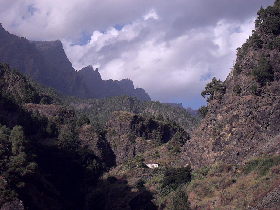 balades dans l'ile de La Palma (hors Santa Cruz), au nord ouest de l'Archipel des Iles Canaries.
