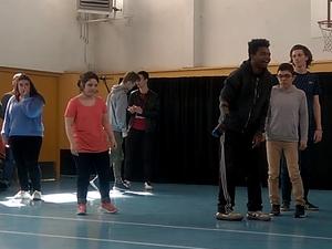 L' atelier de pratique danse en action