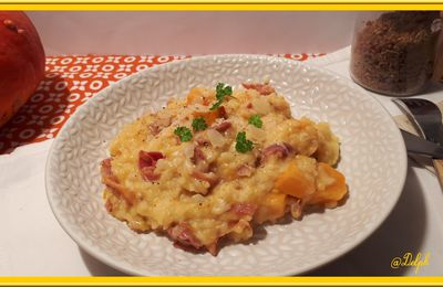 Risotto au Potimarron