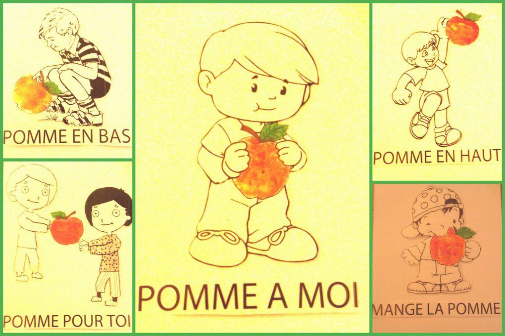 SAFEP 2-3 ans : La pomme et ses couleurs
