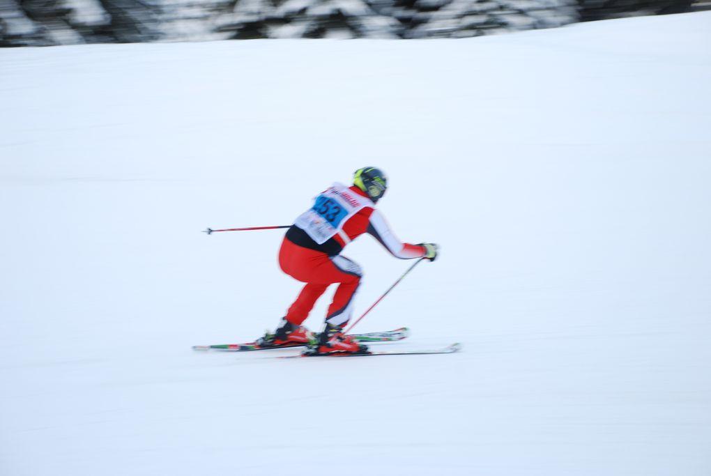 Bilder vom Super G und Biathlon