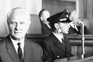 Gestapo General Who Sent 300, 000 Jews to Death Camps Denies Guilt
