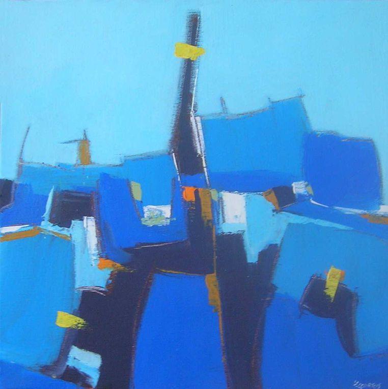 Les peintures présentées ici sont réalisées à l'acrylique sur toile. P copyright Olivier Lecourtois  2006-2011