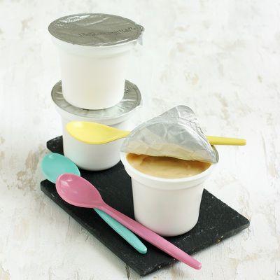 Crème UHT à la vanille et au chocolat