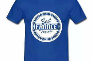 T shirt France Best France Team HBR