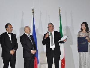 MONACO: FRANK MULLER INSIGNITO DELL'ONORIFICENZA DI « CAVALIERE UFFICIALE ORDINE AL MERITO DELLA REPUBBLICA ITALIANA »