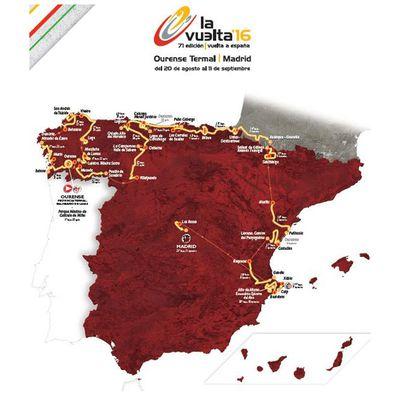 La Vuelta 2016 : Présentation
