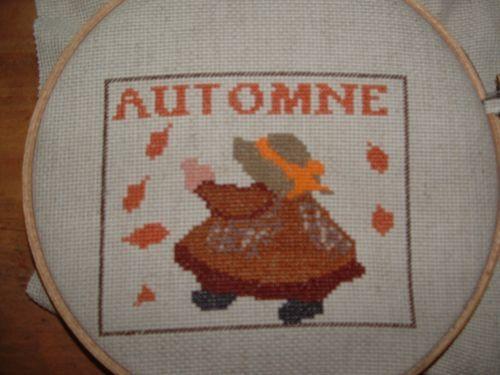 Alphabet Sunbonnet Sal Calendrier de l'Avent 2011 Le Calendrier Sunbonnet 2012