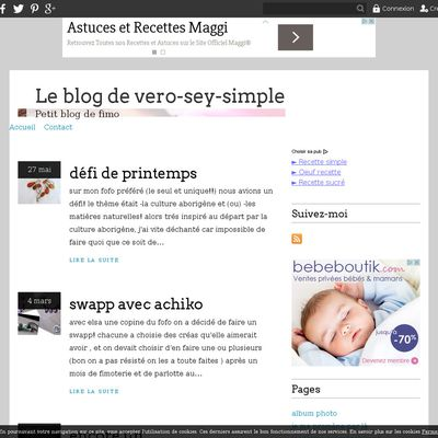Le blog de vero-sey-simple