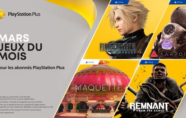 [ACTUALITE] PlayStation - Les jeux PlayStation Plus de mars 2021