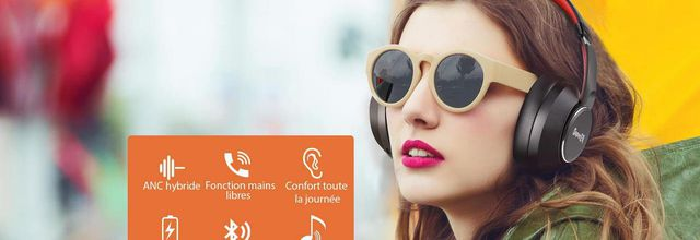Test: casque Bluetooth 5.0 avec technologie Hybrid ANC SuperEQ S1