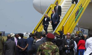 Reuters - On Africa tour, Israeli PM remembers brother killed in Entebbe rescue