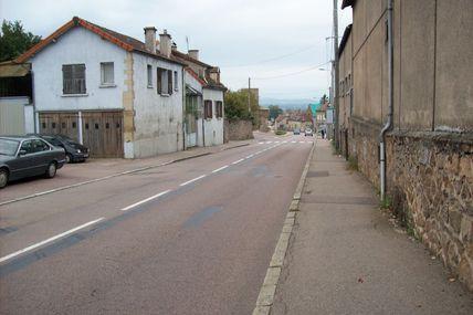 Quartiers Faubourg d'Arroux/Saint-Jean/Saint-André : la rue des Fusiliers-Marins.