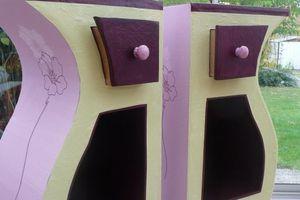 Création stagiaire : duos de chevets en carton