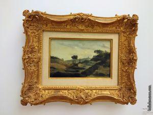 Quatre tableaux de Cézanne