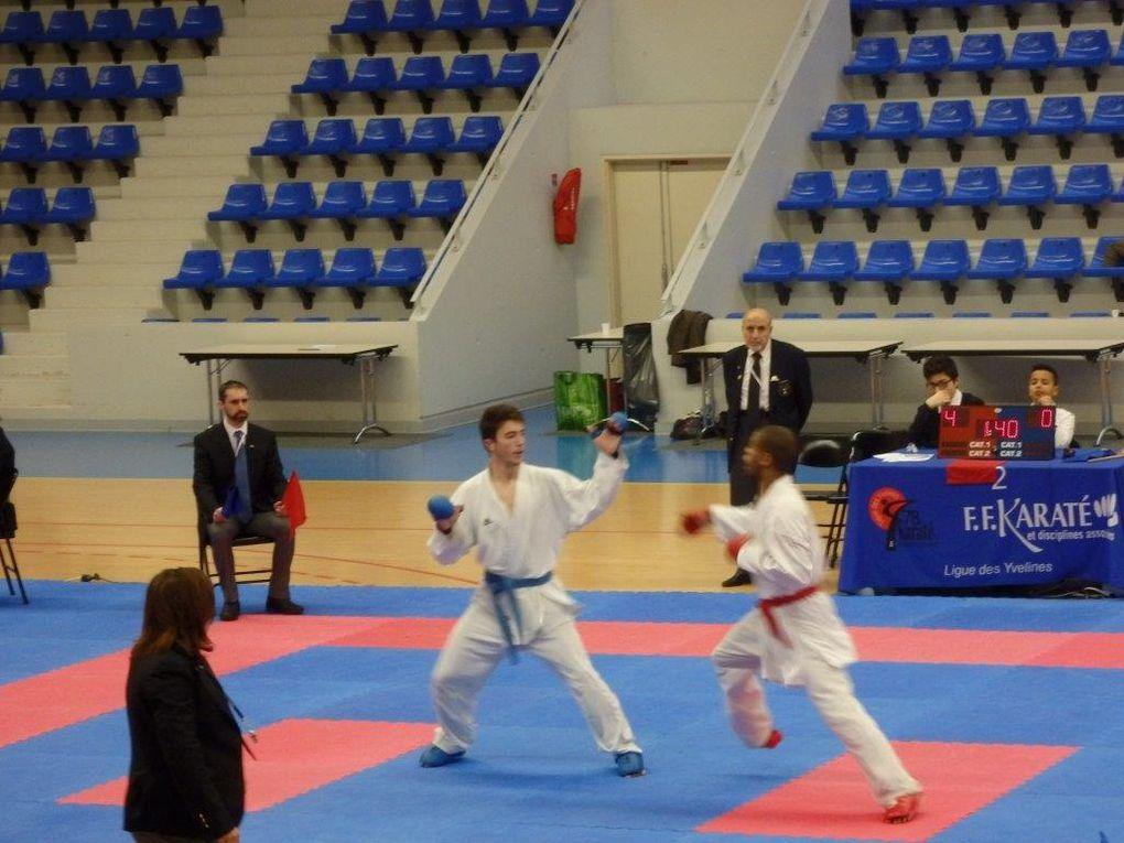 Championnat  kumité des Yvelines Minimes, Cadets, Juniors, Séniors