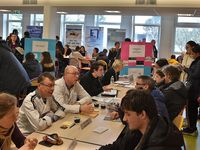 Un forum des métiers apprécié par les élèves du collège Max-Jacob